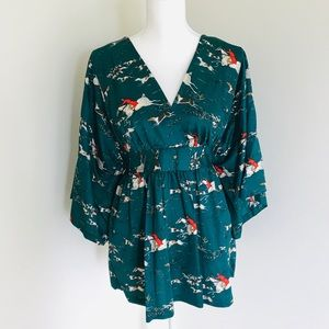 Tops - Vintage Kimono Top